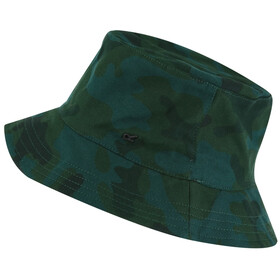 Regatta Crow Gorra Niños, racing green camo print